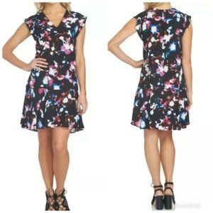 NEW 1. STATE Drop Waist Shift Dress MED $109